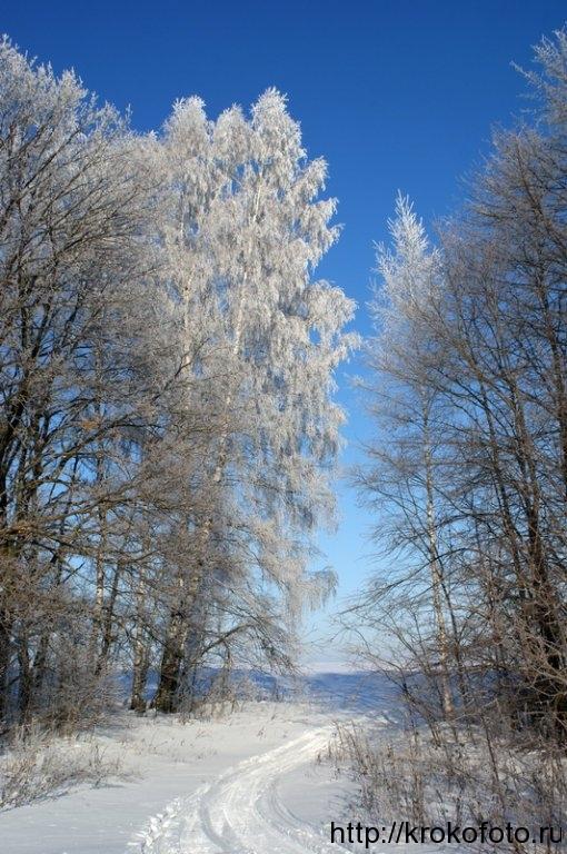 зимние пейзажи 32