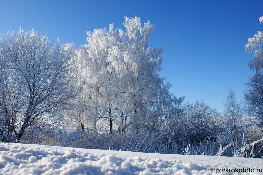 зимние пейзажи 38