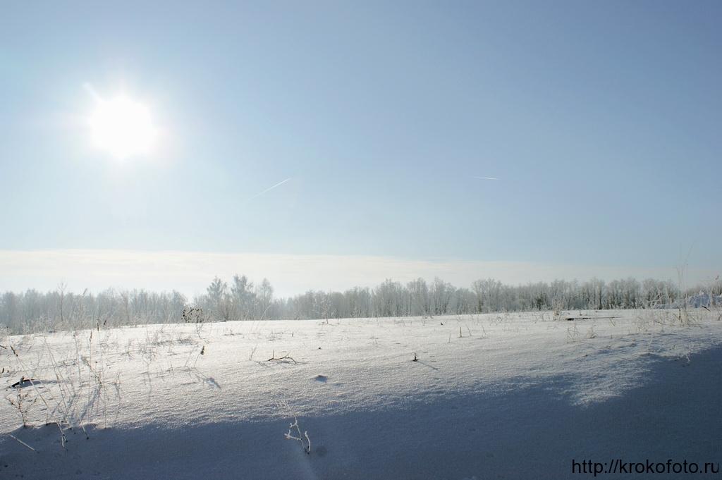 зимние пейзажи 55
