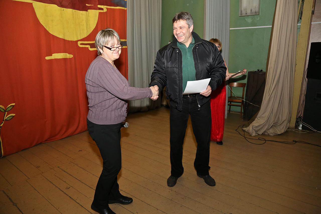 Андрей Абросимов и Ольга Ларичева