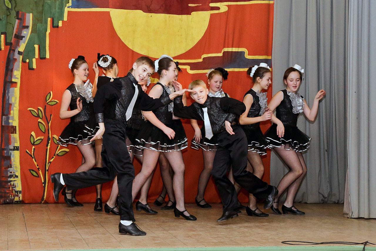 вокально-хореографический коллектив «Счастливый день»
