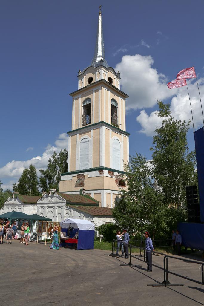 Фестиваль крапивы в Крапивне