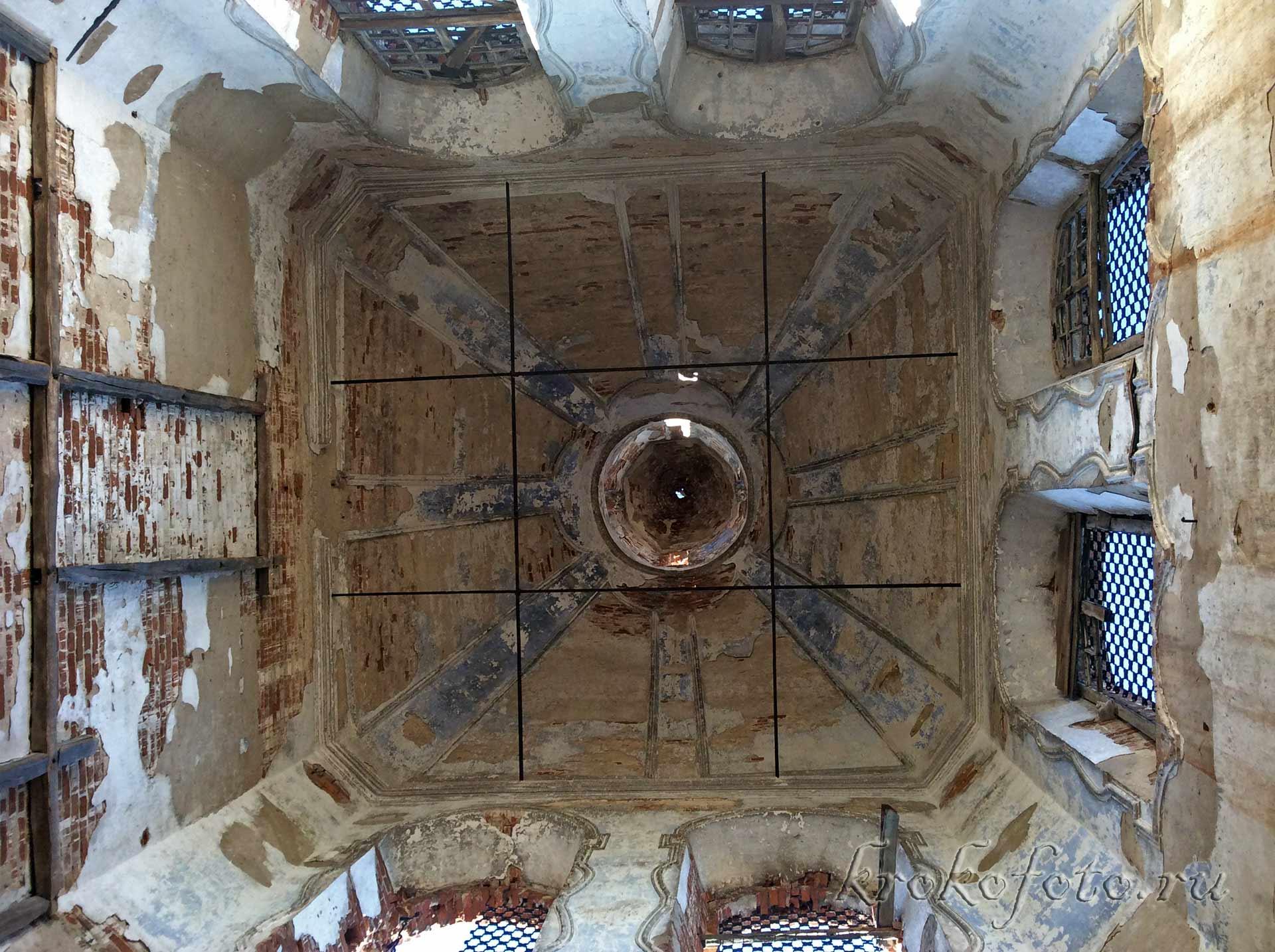 Церковь Спаса Преображения в Жердево