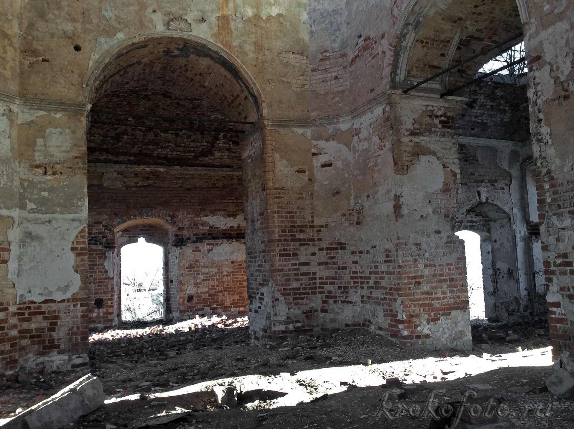 Церковь Спаса Преображения в Жердево .
