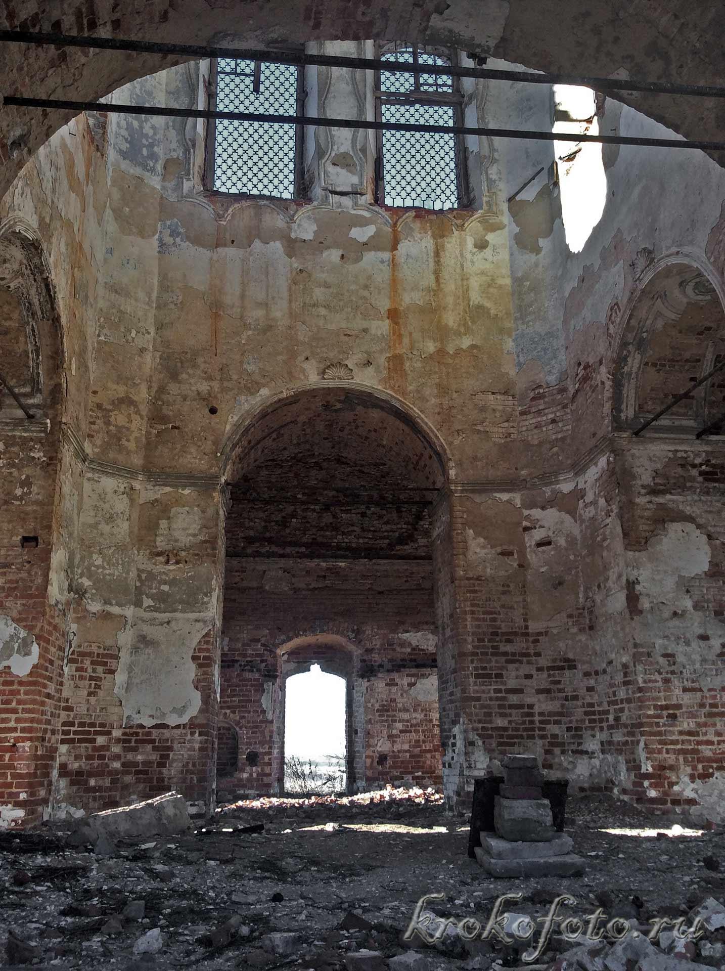 Церковь Спаса Преображения в Жердево.